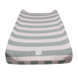 Burt's Bees Bold Stripe Changing Pad Cover - Blossom - Bloom Kids Collection - Burt's Bees
