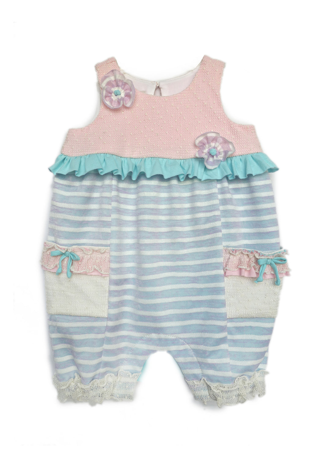 Isobella & Chloe Laffy Taffy Romper - Bloom Kids Collection - Isobella & Chloe