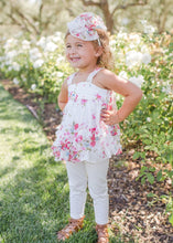 Isobella & Chloe Petaled Pink 2 Piece Set - Bloom Kids Collection - Isobella & Chloe