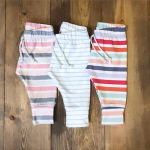 Made by Molly Legging - Multi Stripe - Bloom Kids Collection - Made by Molly