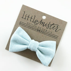 Little Mister Bow Tie - Sky Blue - Bloom Kids Collection - Little Mister