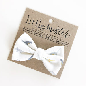 Little Mister Bow Tie - Dinosaur - Bloom Kids Collection - Little Mister