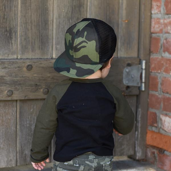 2e4bcd0a George Hats Camo Trucker Hat - Bloom Kids Collection - George Hats ...