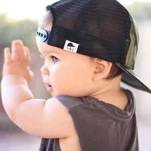 George Hats Camo Trucker Hat - Bloom Kids Collection - George Hats