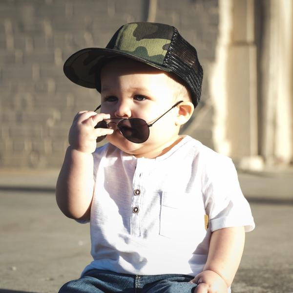 7180a783 ... George Hats Camo Trucker Hat - Bloom Kids Collection - George Hats ...