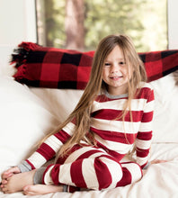Burt's Bees Rugby Stripe Tee & Pant Set - Cranberry - Bloom Kids Collection - Burt's Bees
