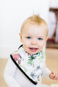 Lollipop Muslin Bandana Bib Set - Sloth