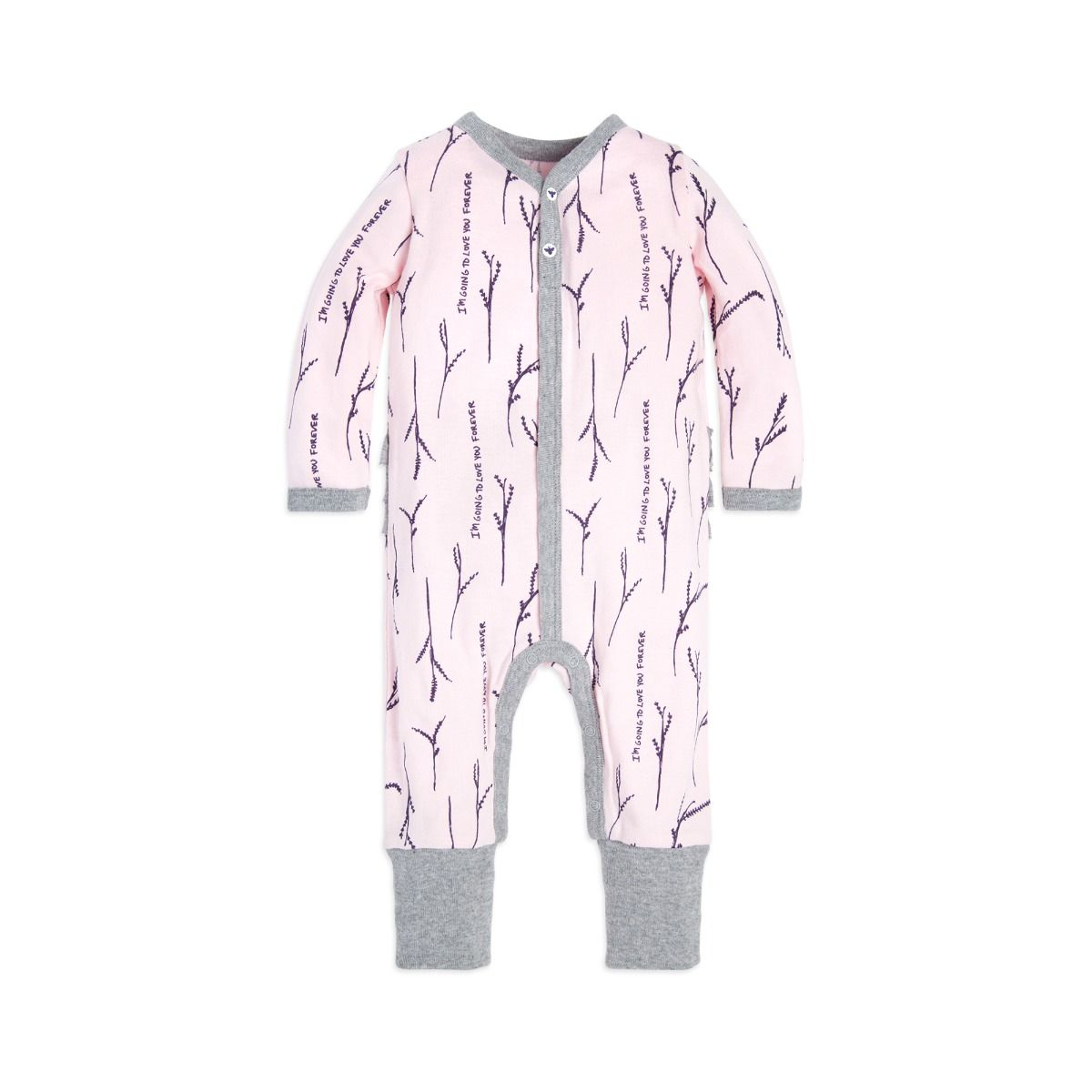 Burt s Bees Love You More Coverall   Hat Set - Blossom - Bloom Kids  Collection ... 5c7a8f369e3a