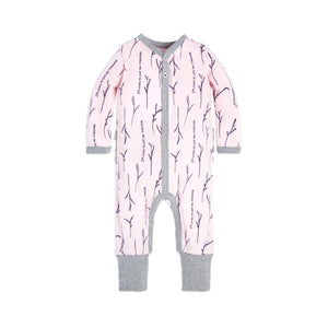 Burt's Bees Love You More Coverall & Hat Set - Blossom - Bloom Kids Collection - Burt's Bees