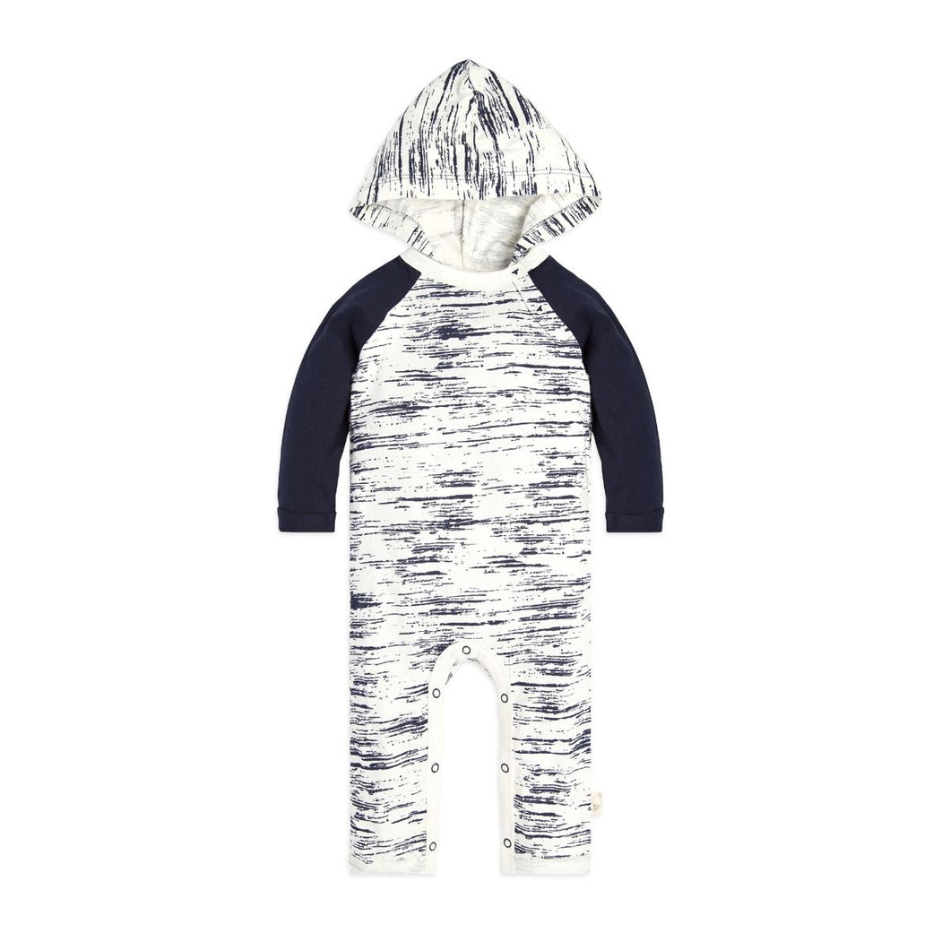 Burt's Bees Peering Light Hooded Coverall - Midnight - Bloom Kids Collection - Burt's Bees