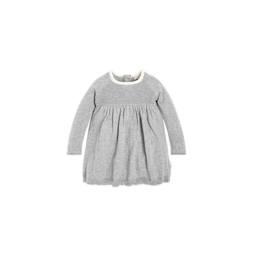 Burt's Bees Sweater Knit Dress - Heather Grey - Bloom Kids Collection - Burt's Bees