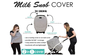 Milk Snob Cover - Primrose - Bloom Kids Collection - Milk Snob