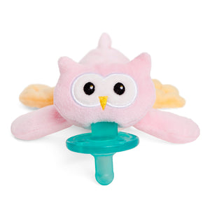 WubbaNub Pink Owl - Bloom Kids Collection - WubbaNub