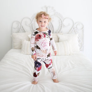 Posh Peanut 2 Piece Set - Black Rose