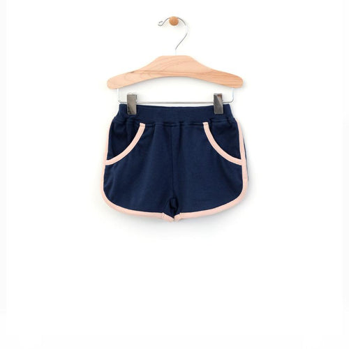 City Mouse Retro Short - Midnight Blue - Bloom Kids Collection - City Mouse