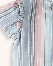 Splendid Baby Girl Woven Stripe Top Set - Multi Stripe - Bloom Kids Collection - Splendid