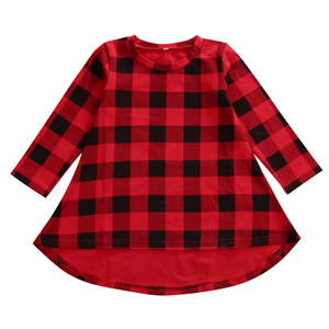 Buffalo Check Tunic - Bloom Kids Collection - Bloom Kids Collection