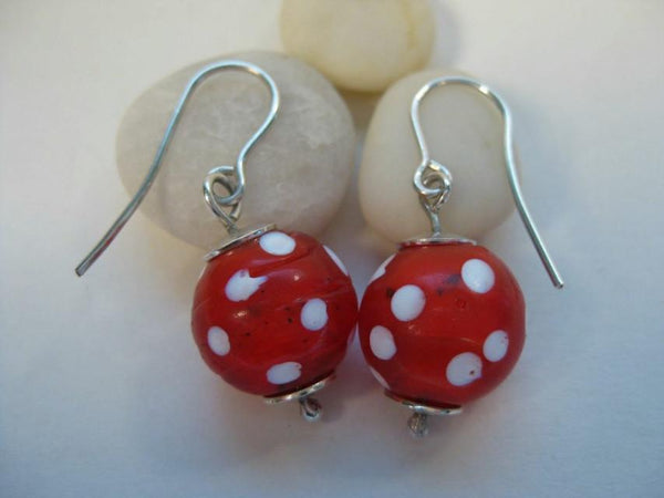 Eye Bead Earrings-Elizabeth Prior