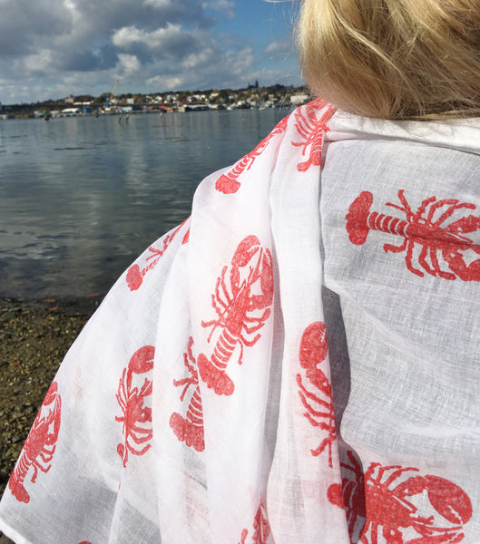 Cotton Lobster Scarf