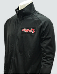 BKS232MI-Smitty Black Jacket with Full Front Zipper with MHSAA Embroidered Logo