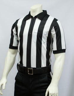 "FBS117E-Smitty 2"" Stripe Elite Performance Interlock Short Sleeve Shirt"
