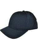 HT304 - Smitty - 4 Stitch Flex Fit Umpire (PLATE) Hat - Available in Black and Navy