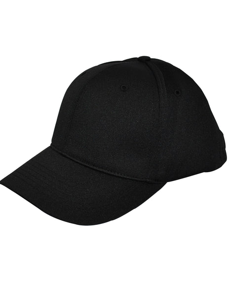 HT306 - Smitty - 6 Stitch Flex Fit Umpire (COMBO) Hat - Available in Black and Navy
