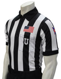 "USA115CFO-607-150 - Smitty USA ""BODY FLEX"" 150 Anniversary CFO Football Short Sleeve Shirt"