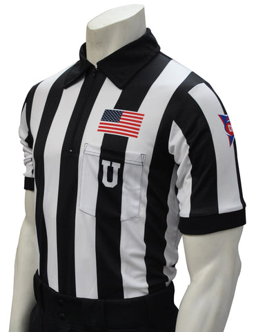 USA115CFO- Smitty USA - Dye Sub CFO Football Short Sleeve Shirt