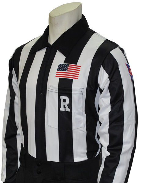 USA116CFO- Smitty USA - Dye Sub CFO Football Long Sleeve Shirt