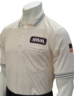 USA300AL-Dye Sub Alabama Baseball Short Sleeve Shirt - Available in Navy, Powder Blue and Cream