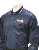 USA301AL- Dye Sub Alabama Baseball Long Sleeve Shirt - Available in Navy and Powder Blue