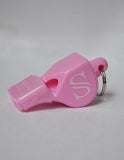 WH14C-Cushioned Whistle - Available in Black and Pink