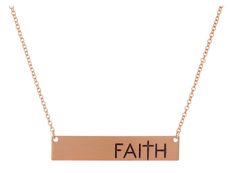 PROTECTED | Faith Necklace