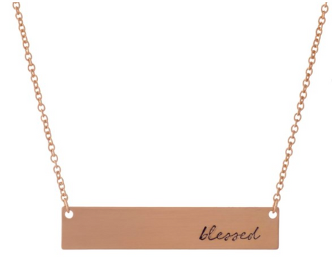 BE THE LIGHT | Blessed Necklace