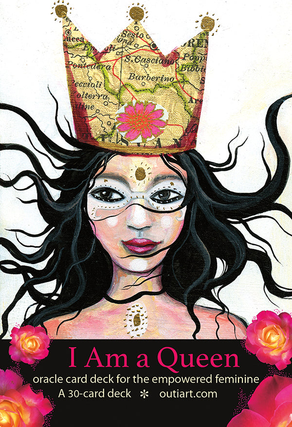I am a Queen, oracle card deck