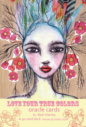 Love Your True Colors, oracle card deck