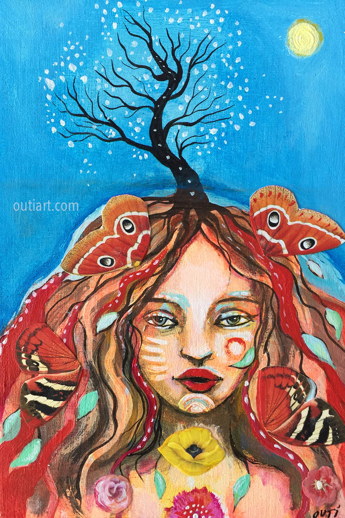 Dream Tree, original painting