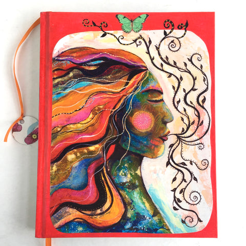 Sacred Now, hand-painted Journal