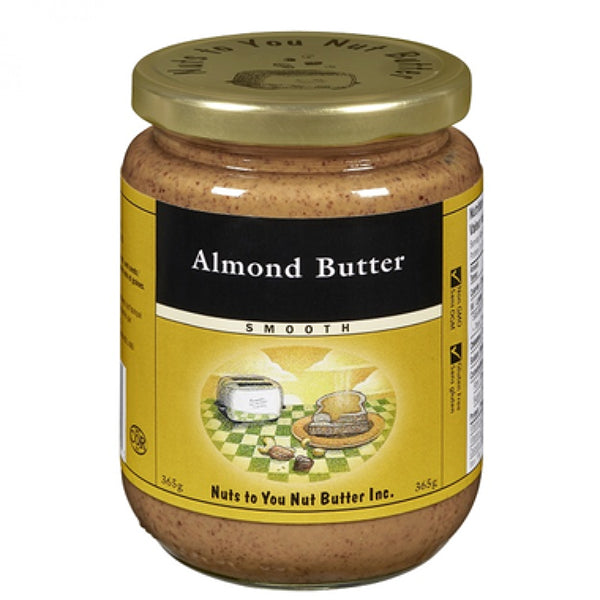 Nuts to You Almond Butter, Smooth, 365 g