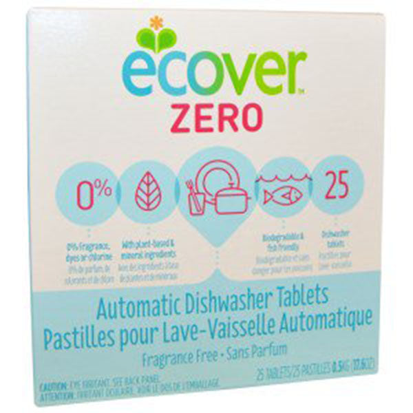 Ecover Zero Dishwasher Tablets, Fragrance free, 25 tablets