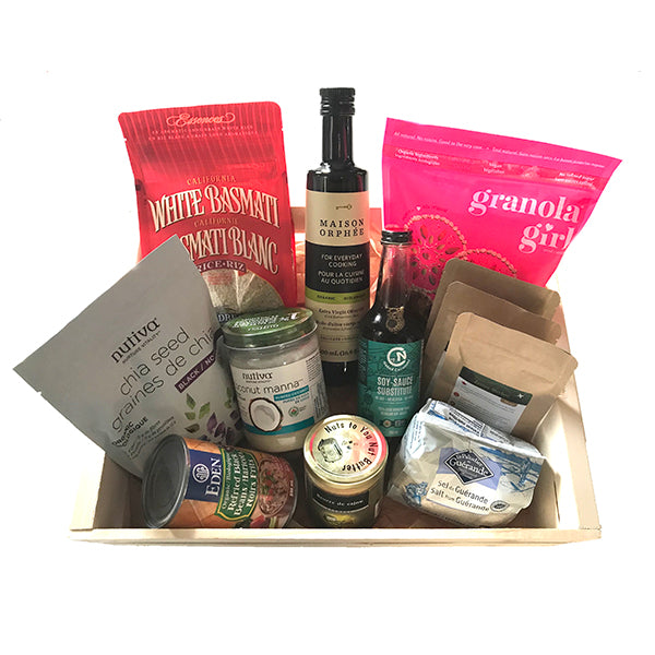Foodie staples gift box
