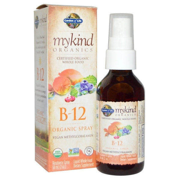 Garden of Life MyKind Vitamin B12 Spray, 58 mL