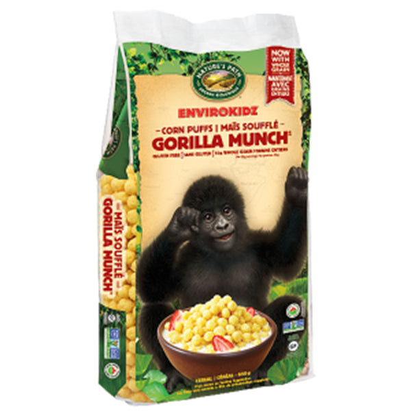 Nature's Path Gorilla Munch Corn Puffs, 650g