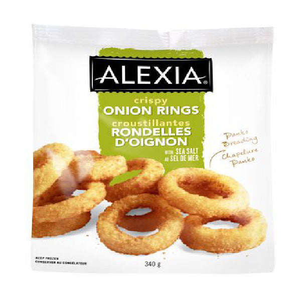 Alexia Crispy Onion Rings, 340g