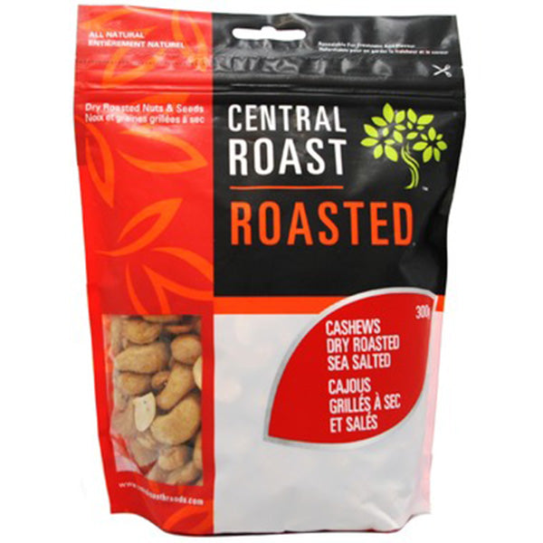 Central Roast Dry Roasted Salted Cashews, 275g