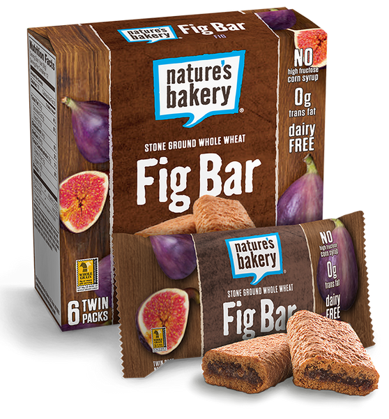 Nature's Bakery Stone Ground Whole Wheat Fig Bar, Twin pack