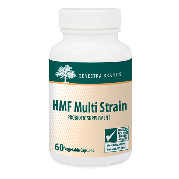 Genestra Probiotics HMF Multi Strain, 60 vegetable capsules
