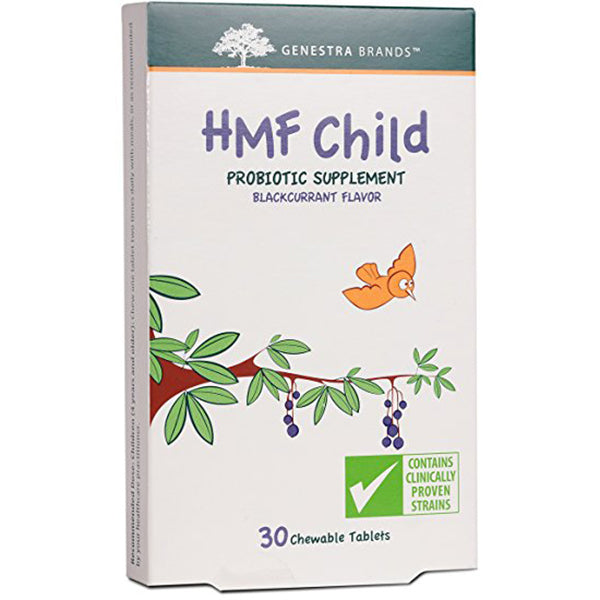 Genestra HMF Child Probiotic Formula, 30 chewable tablets