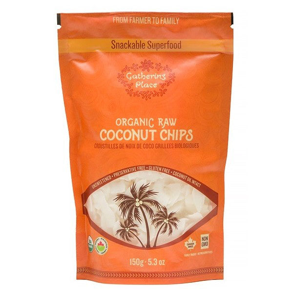 The Gathering Place Raw Coconut Chips, 150g
